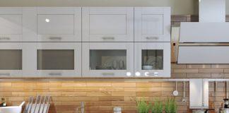חיפוי קיר זכוכית למטבחים