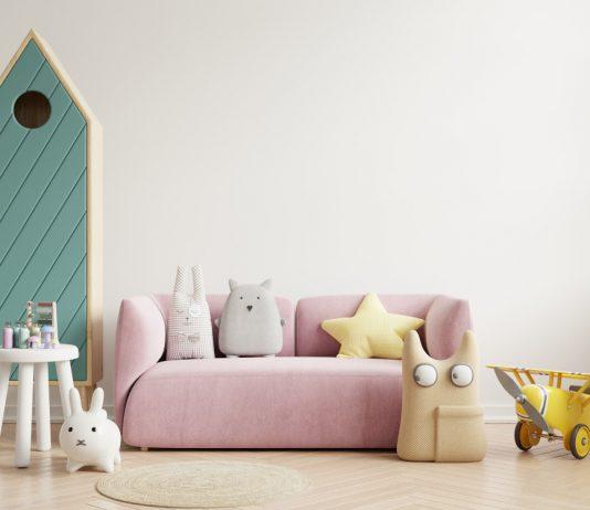 עיצוב חדר ילדים מודרני